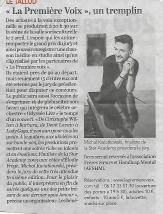 ARTICLE COURRIER DE L OUEST